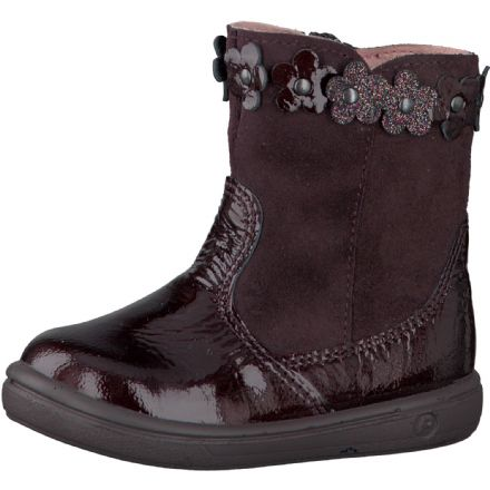 Ricosta SANJI Patent Leather Boots (Blackberry)